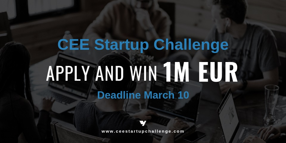 Win 1M EUR in CEE Startup Challenge