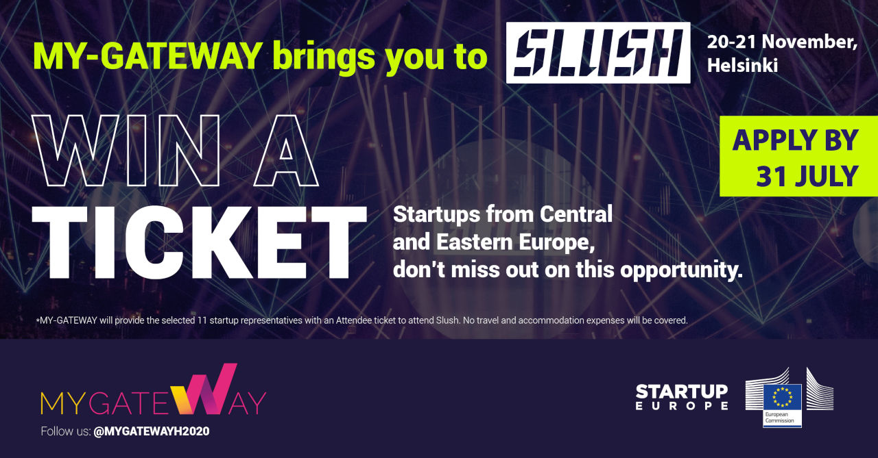 11 startups wanted to join MY-GATEWAY at Slush