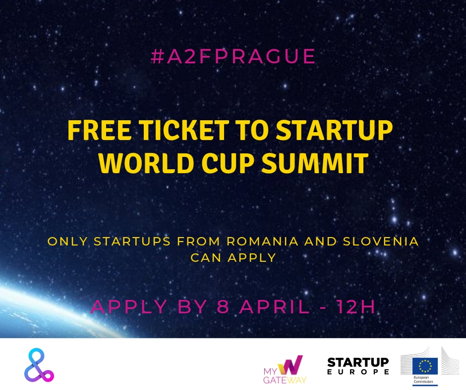 Join us at Startup World Cup Summit in Prague!