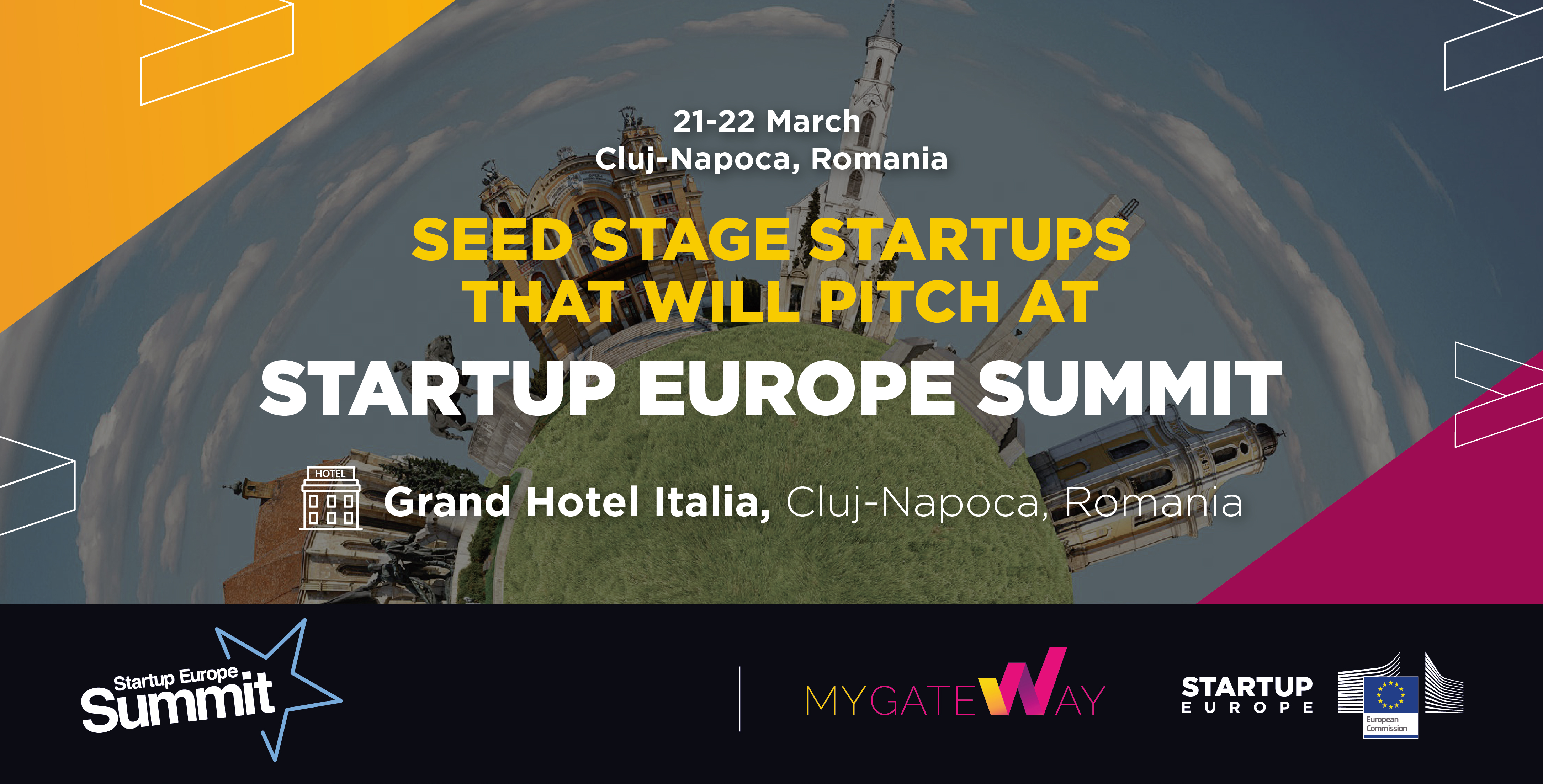 Here are the selected seed-stage startups that will come with us to Cluj-Napoca!