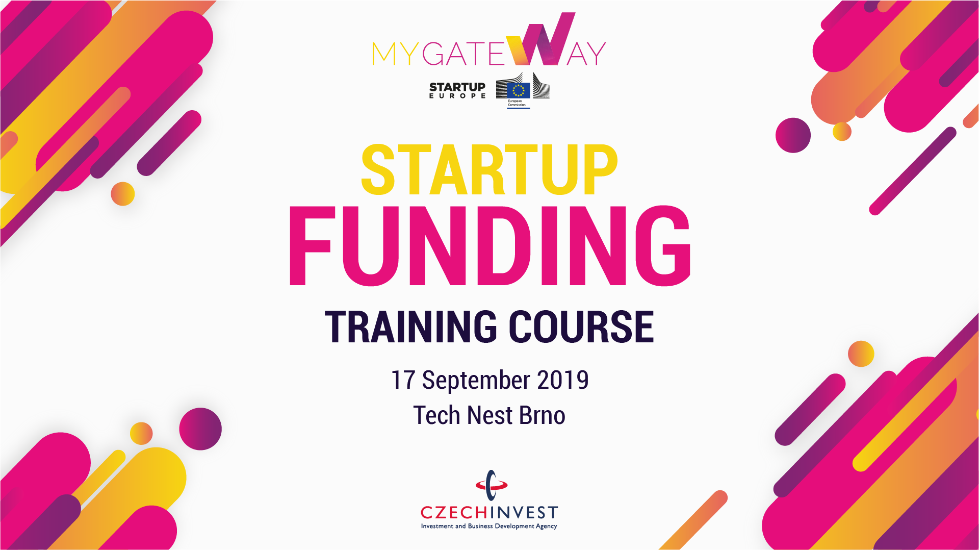 Startup Funding Training Course in Brno, Czech Republic