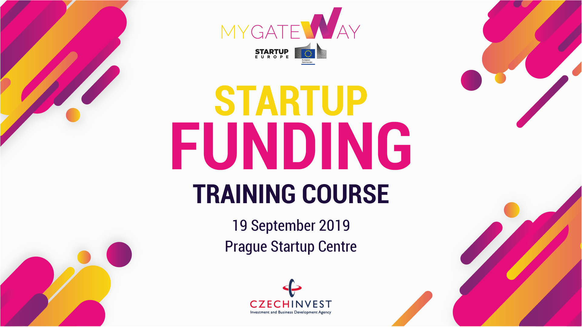 Startup Funding Training Course in Prague, Czech Republic