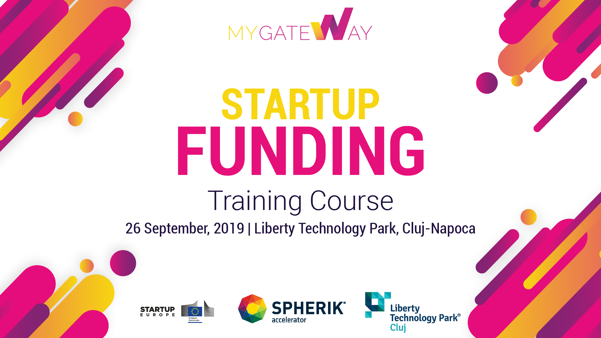 Startup Funding Training course in Cluj-Napoca, Romania