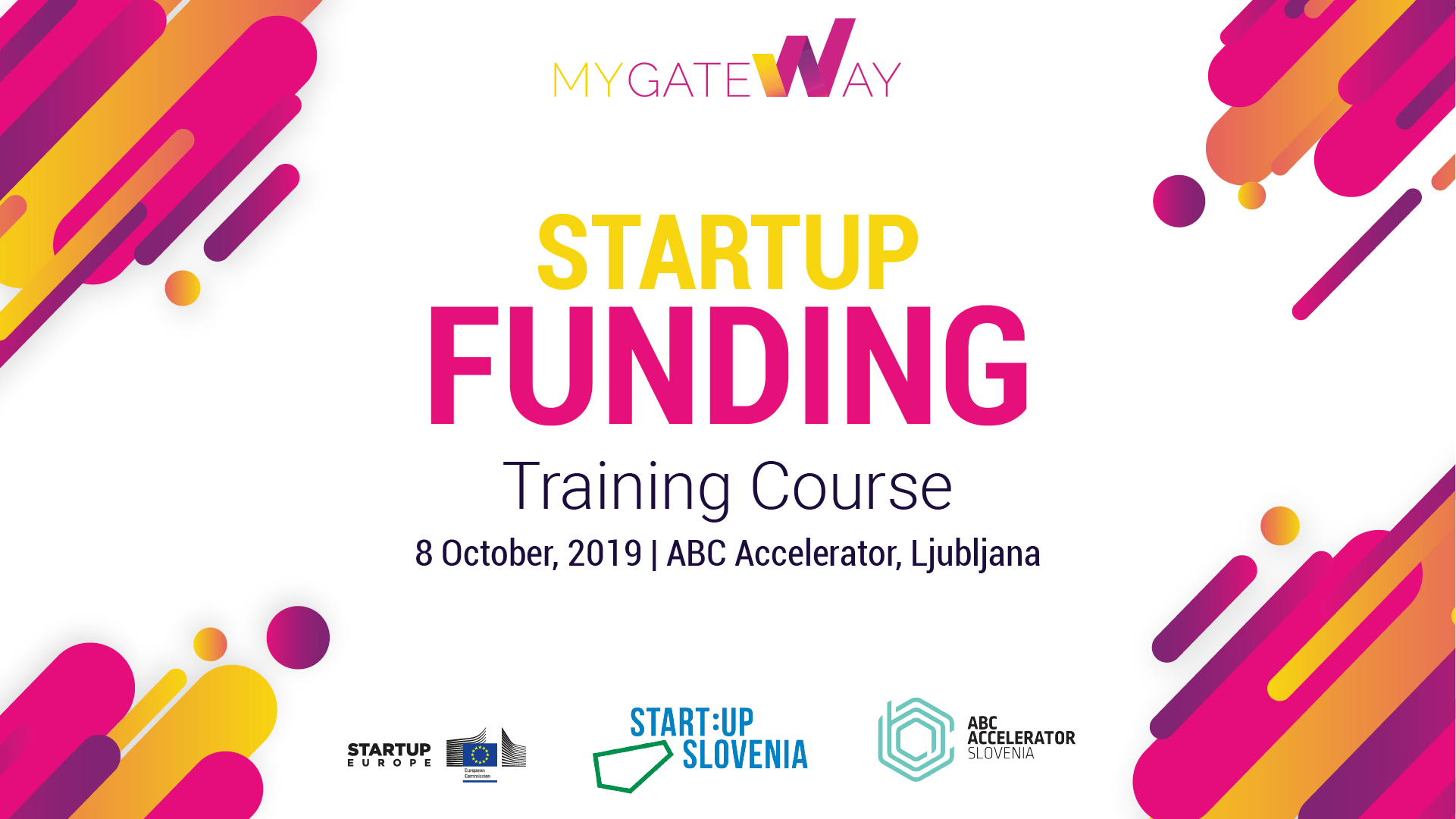 Startup Funding Training Course in Ljubljana, Slovenia