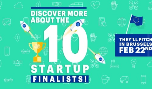 10 Finalist selected for the European Startup Prize for mobility
