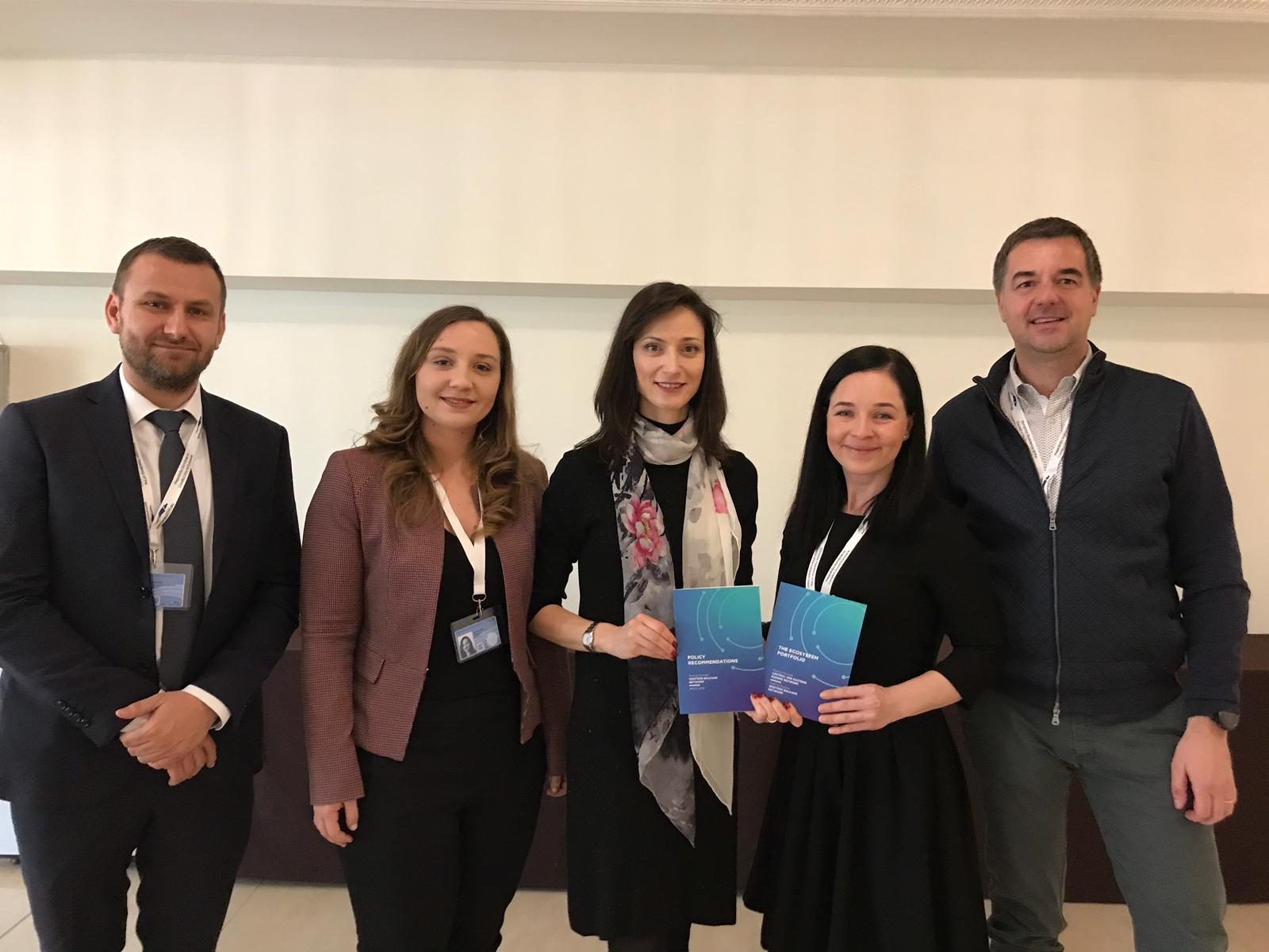 Commissioner Mariya Gabriel endorses the Western Balkan policy recommendations at Startup Europe Summit 2019